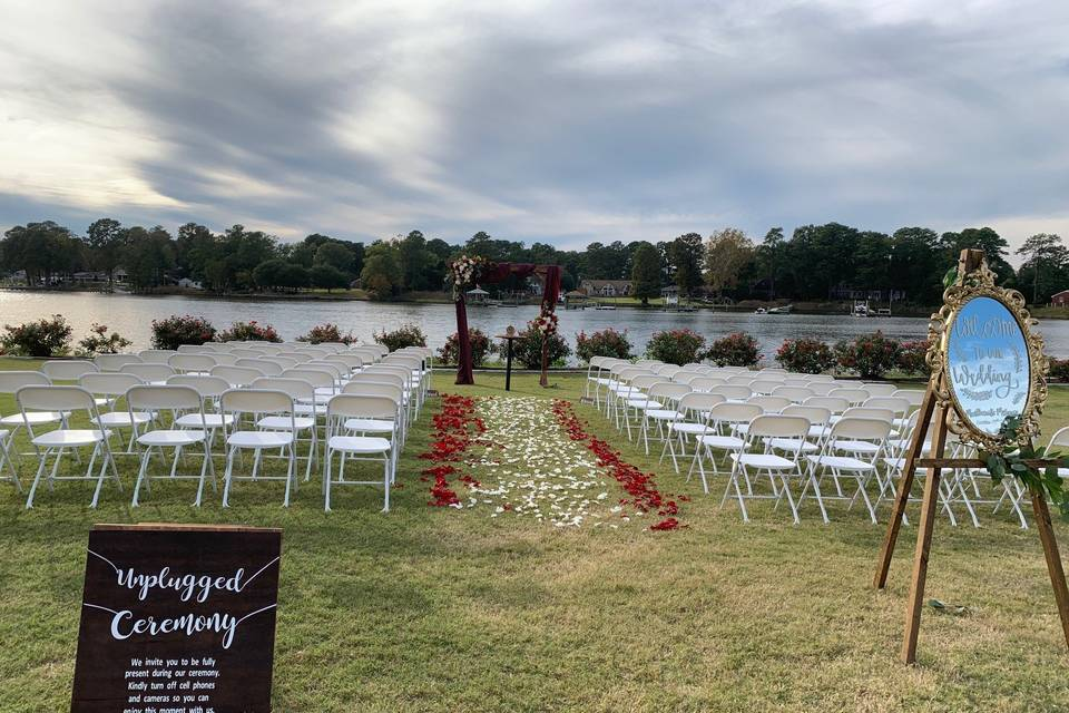 Elizabeth River Ceremony Lawn