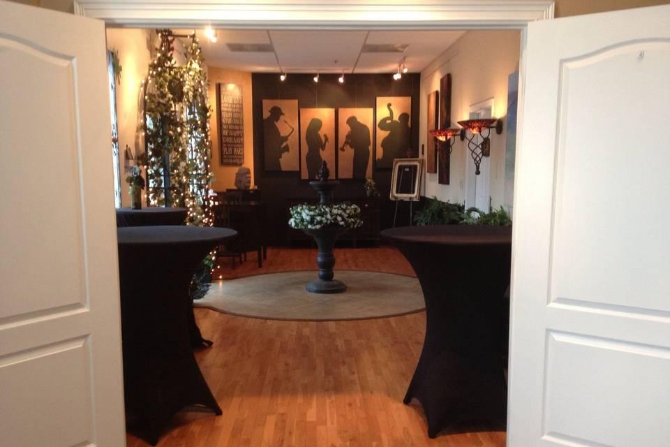 Gallery J Reception foyer