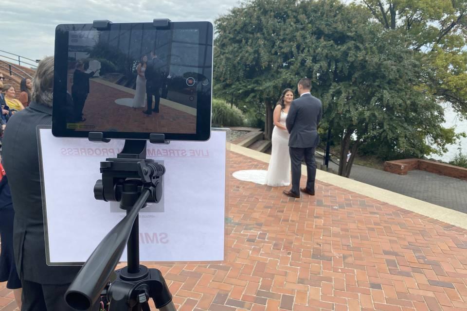 Live Stream: Wedding Ceremony