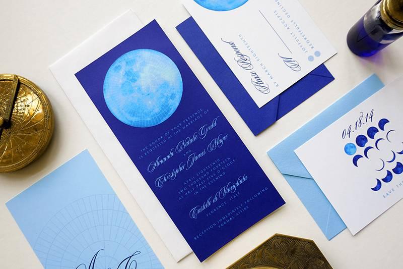 Syzygy wedding invitations