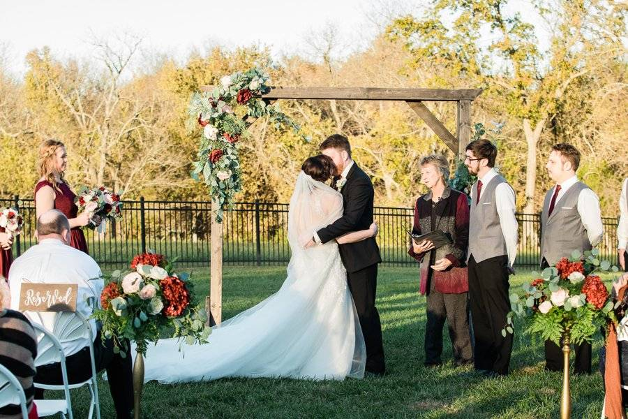 Side Lawn Ceremony -Fall