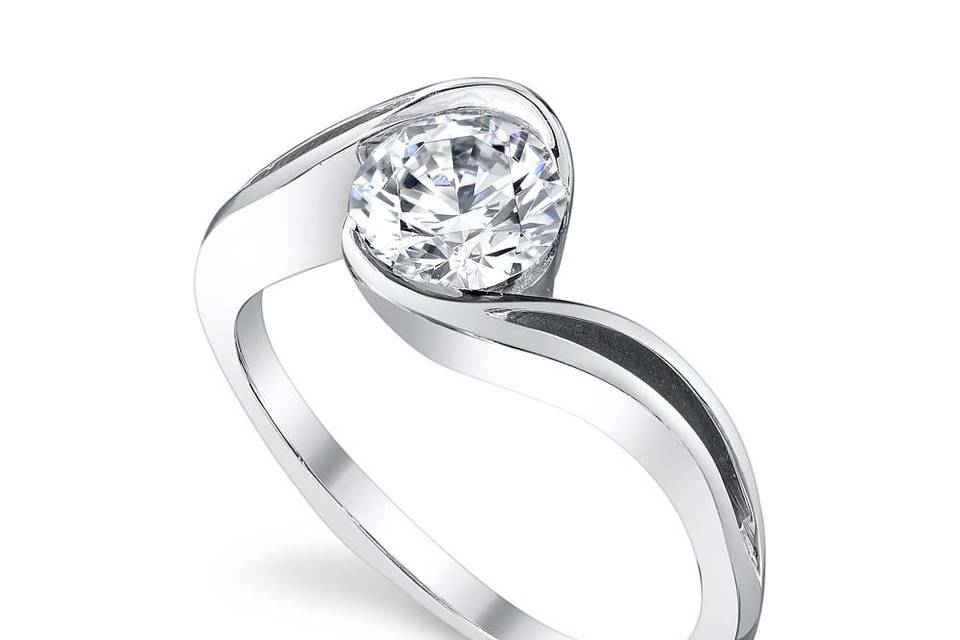 Aerial engagement ring