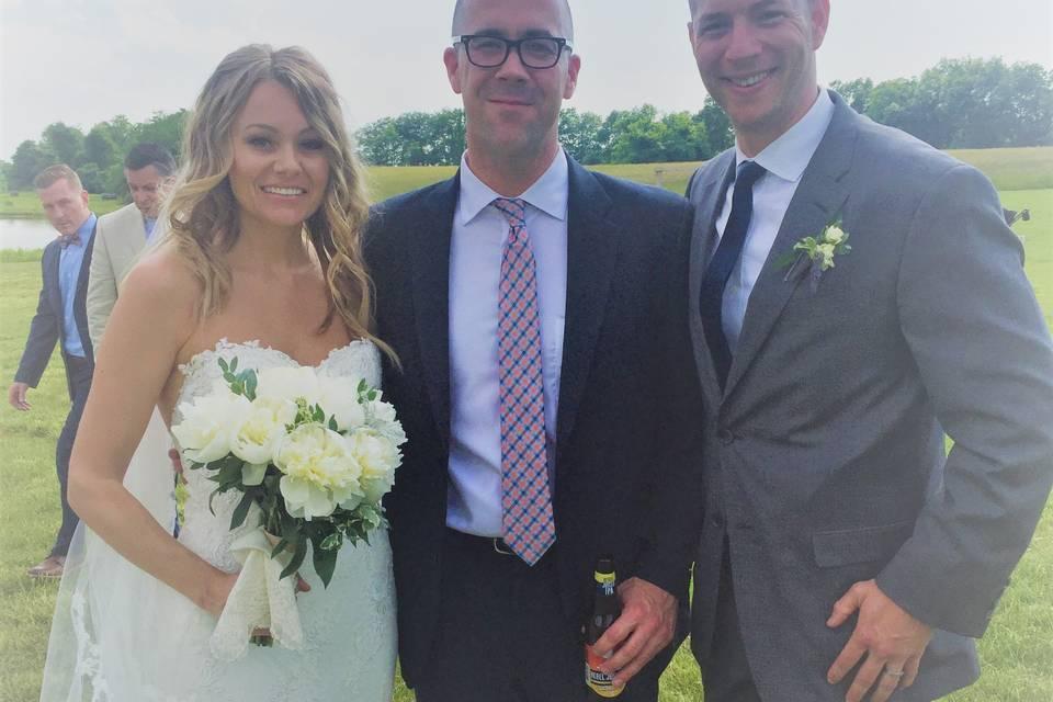 Gorgeous wedding!