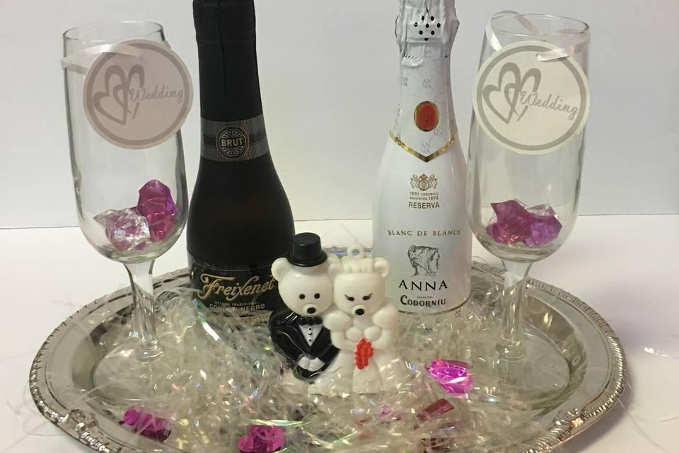 Valencia Liquor and Wedding Wine Favors