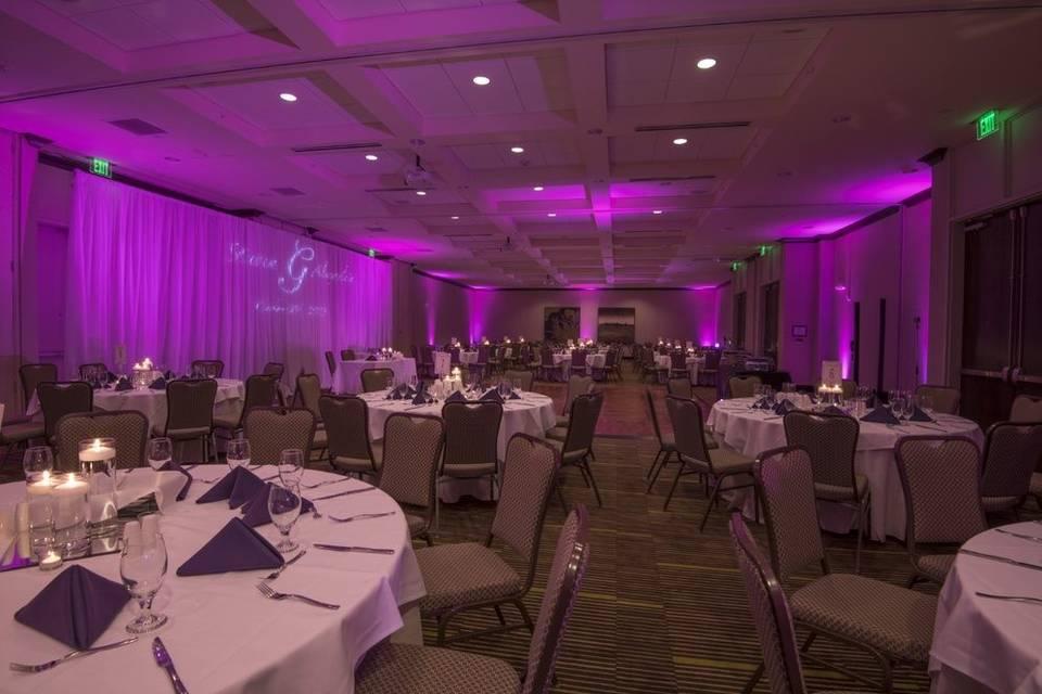 Bradford Ballroom with Uplight