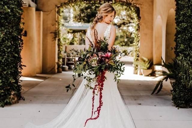 Lush Bridal Bouquet Sydonie