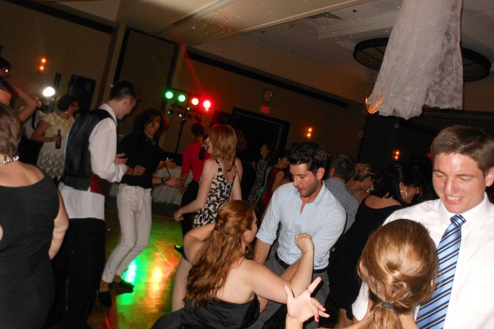 Wedding dance-off