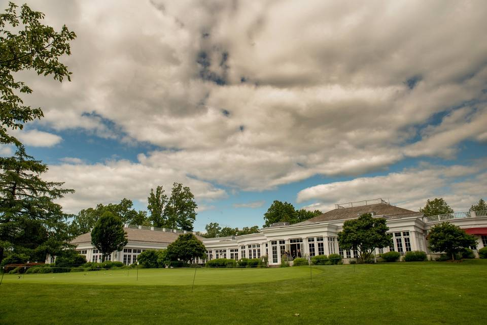 Clubhouse and Golf Course