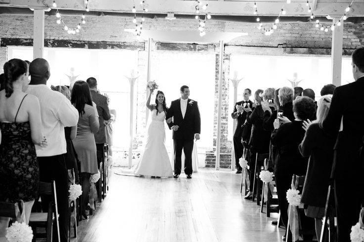 The wedding pronouncement