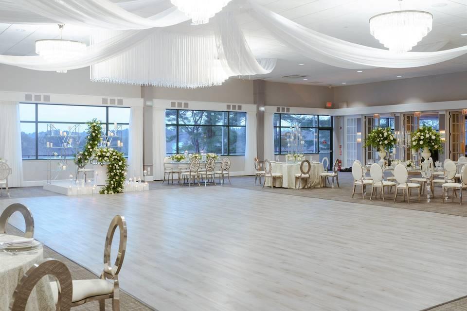 Ballroom set-up