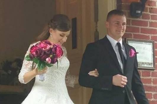 Jessi and Dustin's beautiful wedding 2016