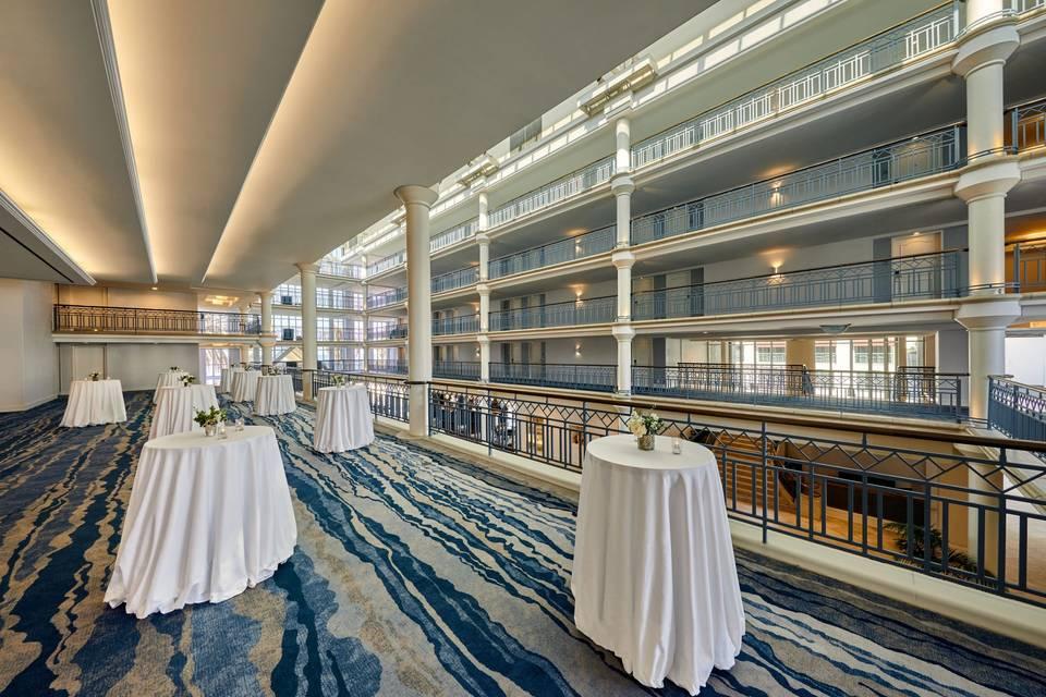 5th Floor Balcony Reception