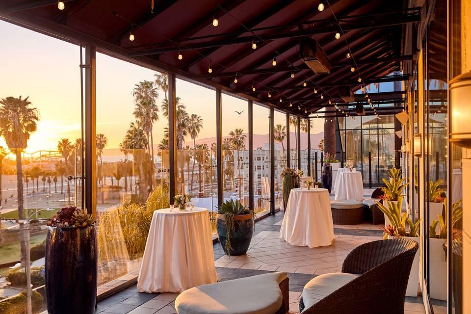 Venice Garden Terrace Daytime