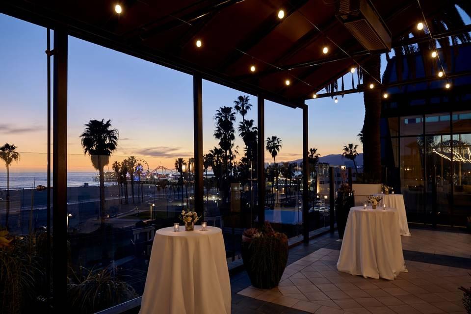 Venice Garden Terrace Evening