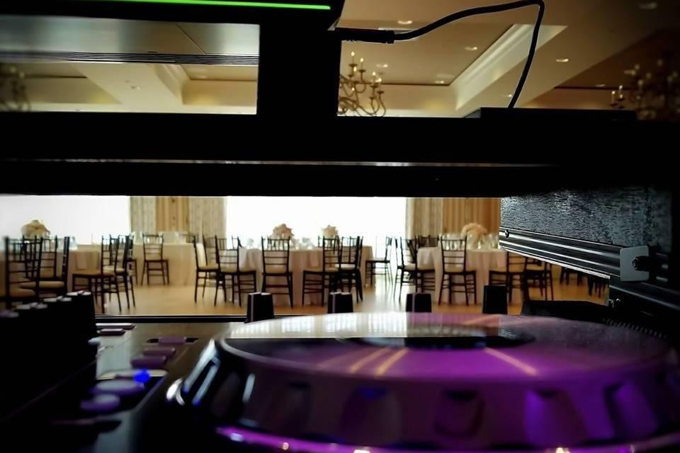 Calm bts scenes reception area