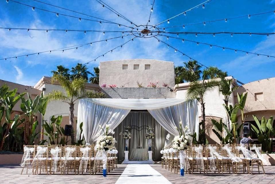 Palm Terrace ceremony