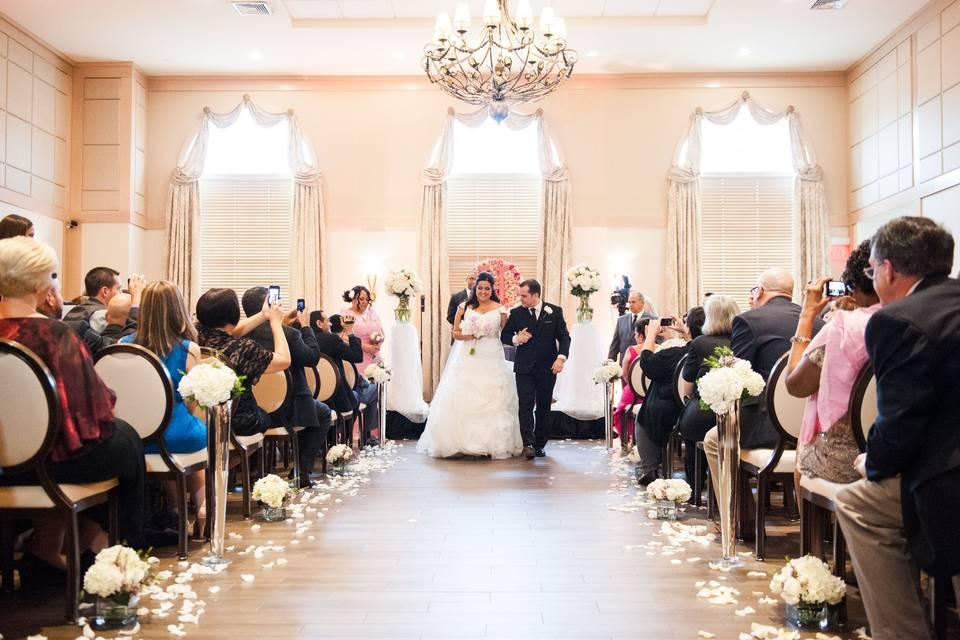 Madison Room ceremony