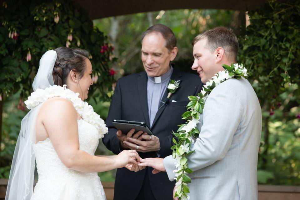 Wedding at Crow Creek Mine