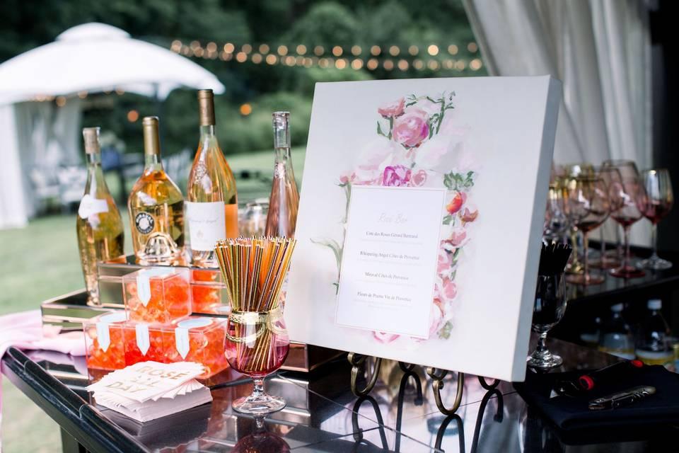 Signature Rose Bar