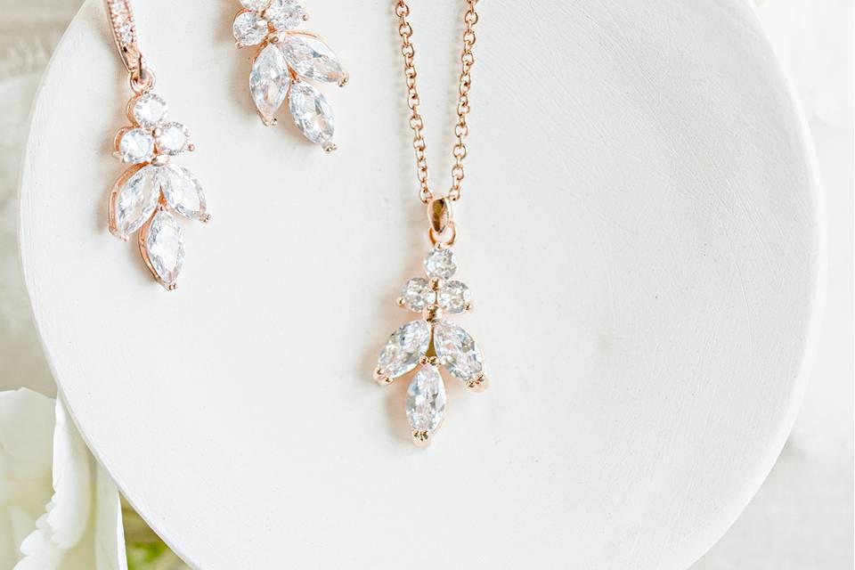 Gigi Wedding Jewelry Set