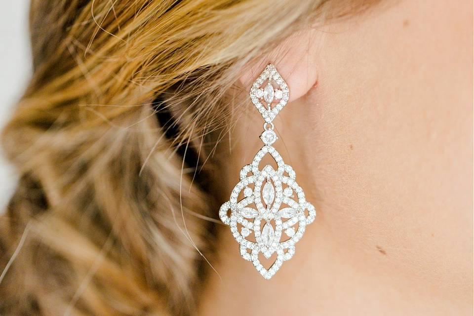 Evangeline Wedding Earrings