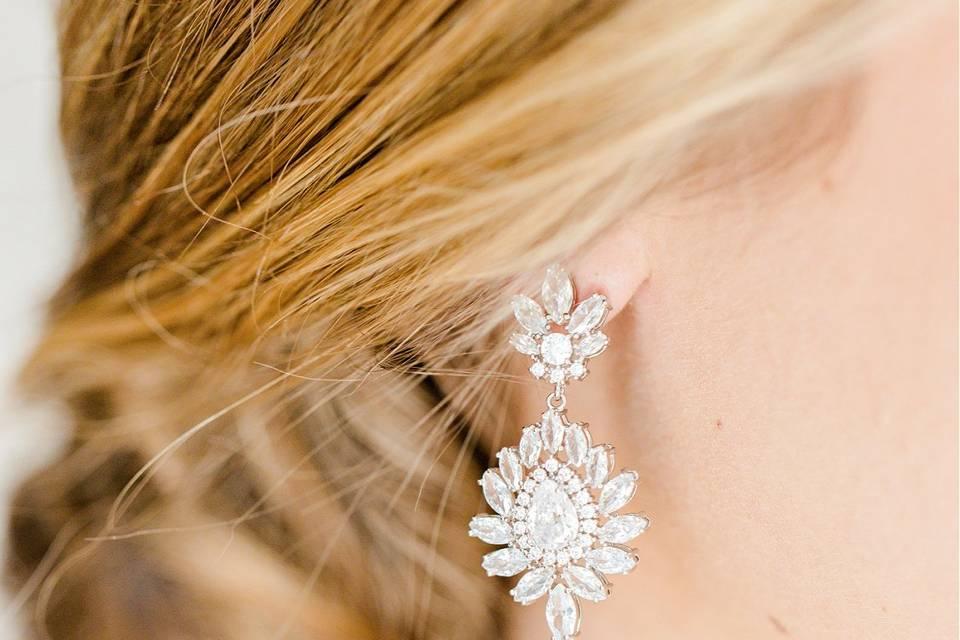 Penelope Wedding Earrings