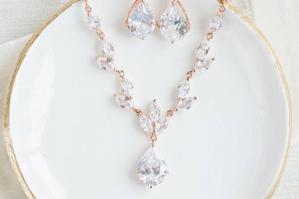 Adele Wedding Jewelry Set