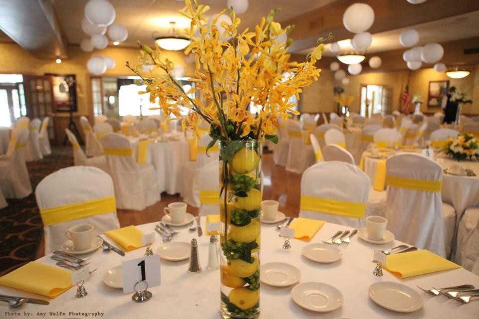 Yellow themed