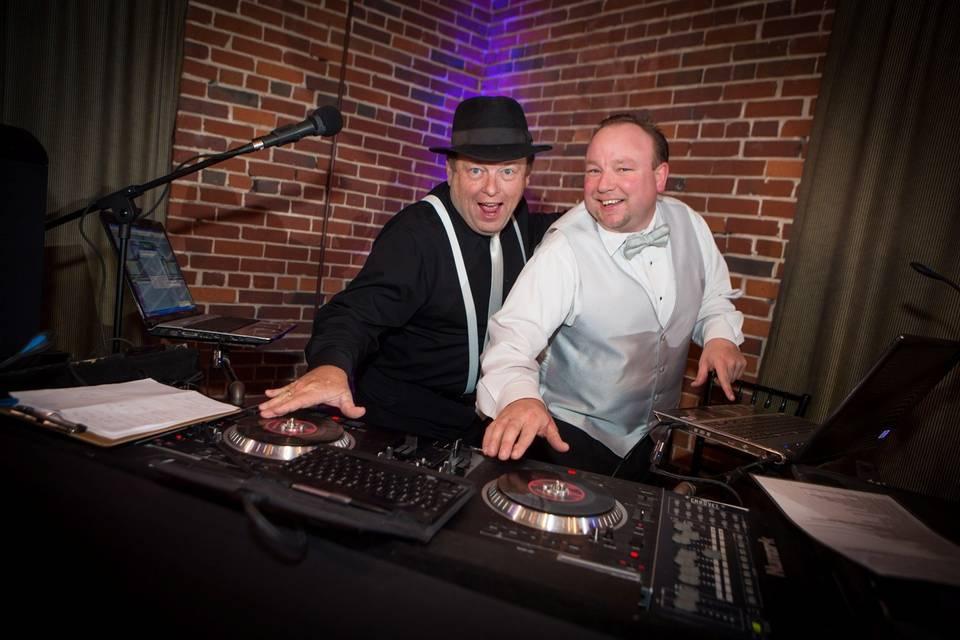 DJ and a friend