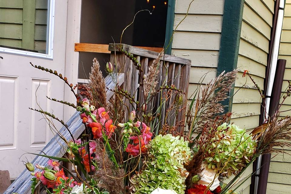 Fall Entry Table Arrangement