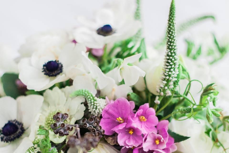 Anenomies Bridal Bouquets