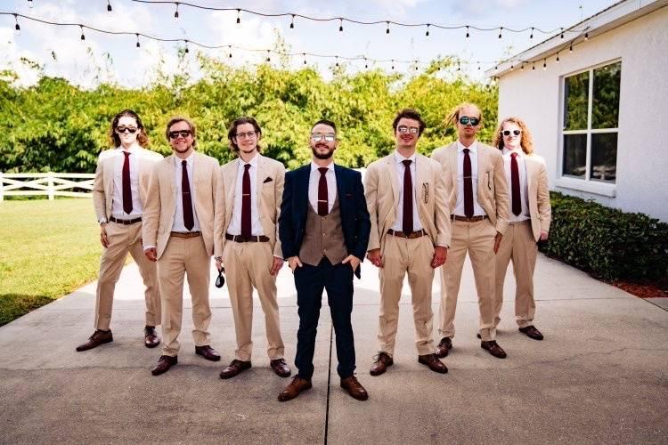 Suits as unique as you.