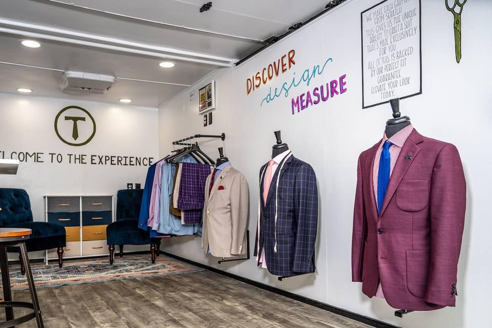Mobile suit shop
