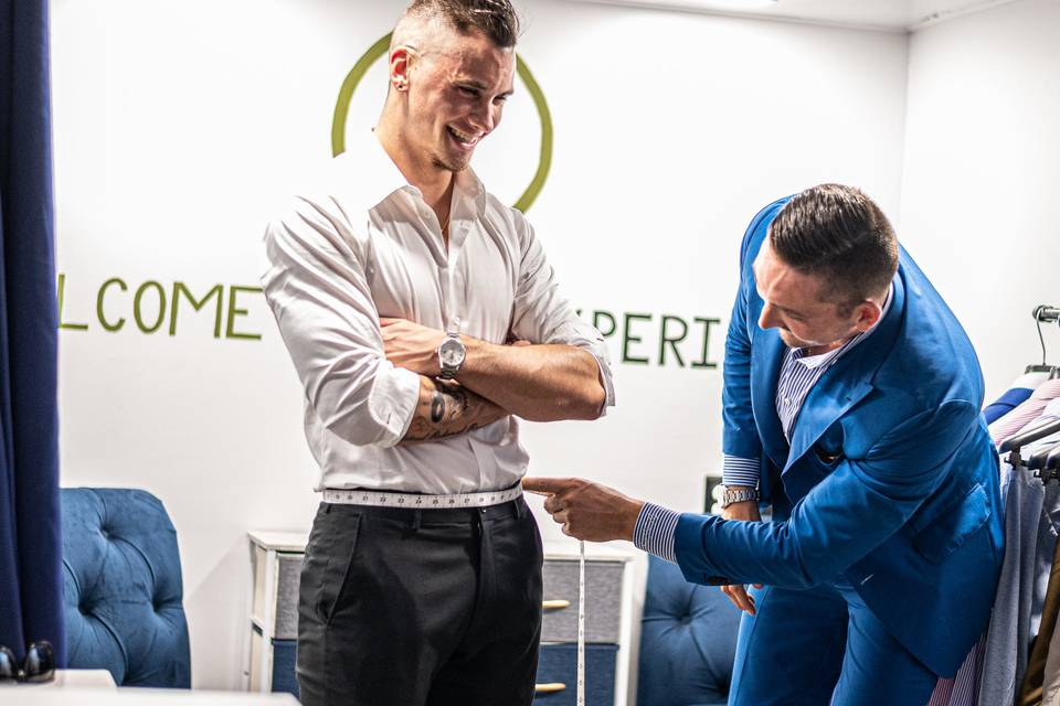 Suits made to measure