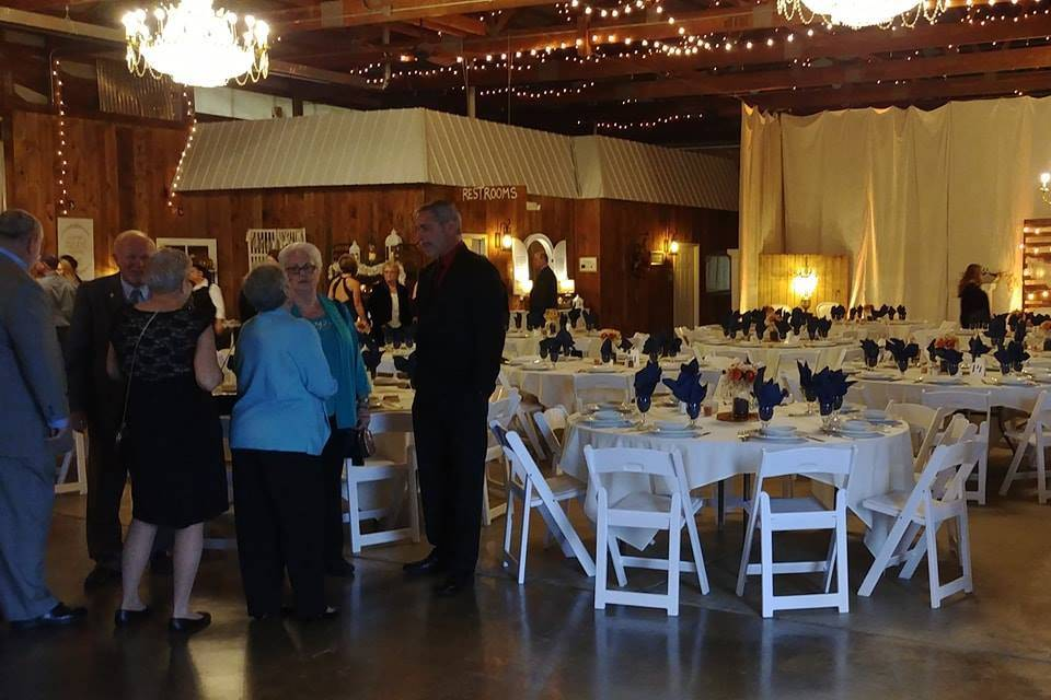 Reception at Southern Charm Venues