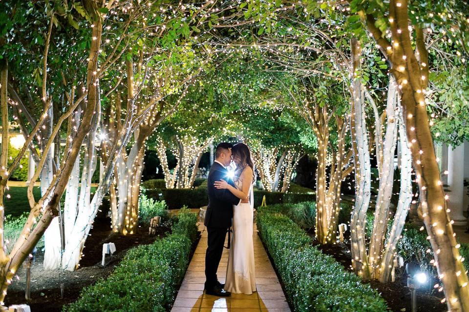 Illuminated archways
