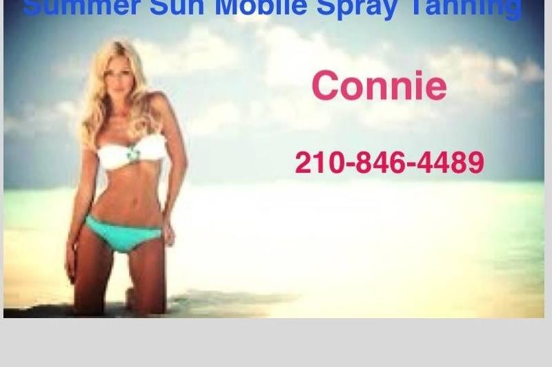 Summer Sun Mobile Spray Tanning