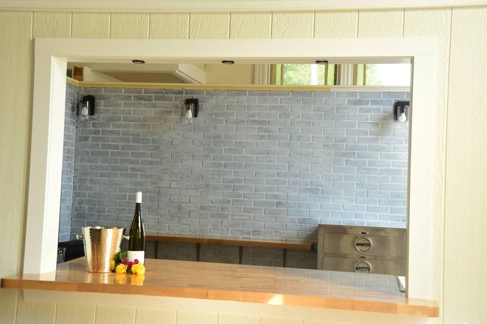 Wet bar/Kitchennette