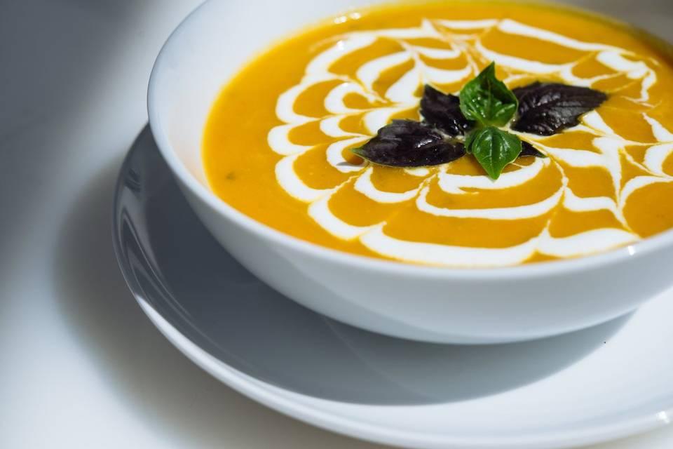 Butternut and Cream Soup