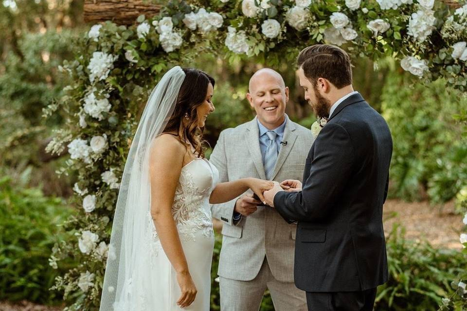 Another beautiful wedding at t
