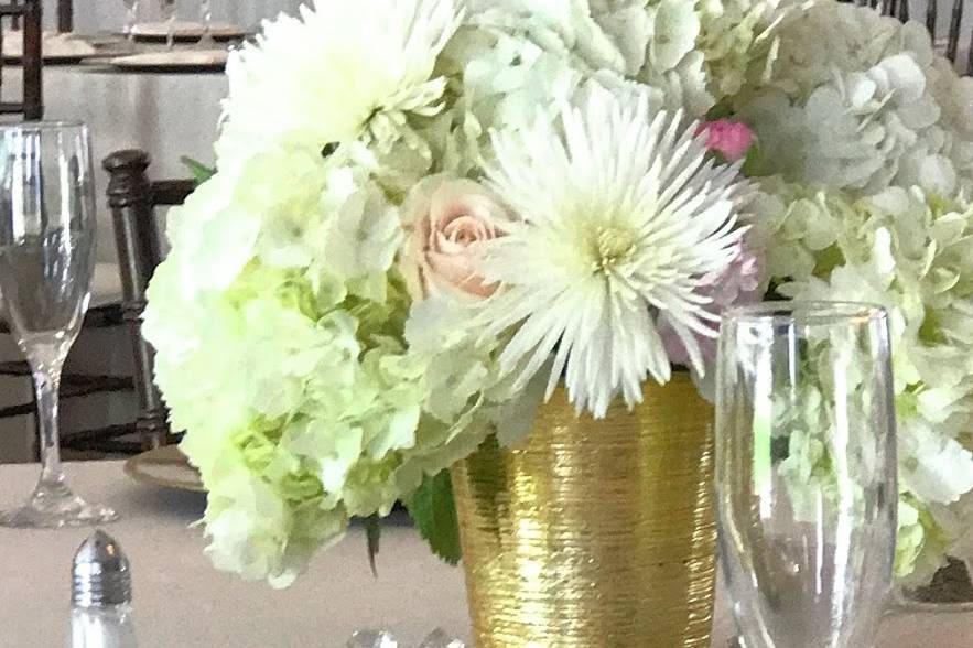 Light and airy blooms