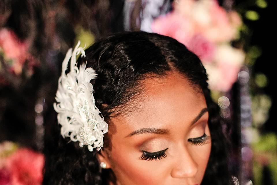 Closeup of the bride - Robert Max Photo and Video