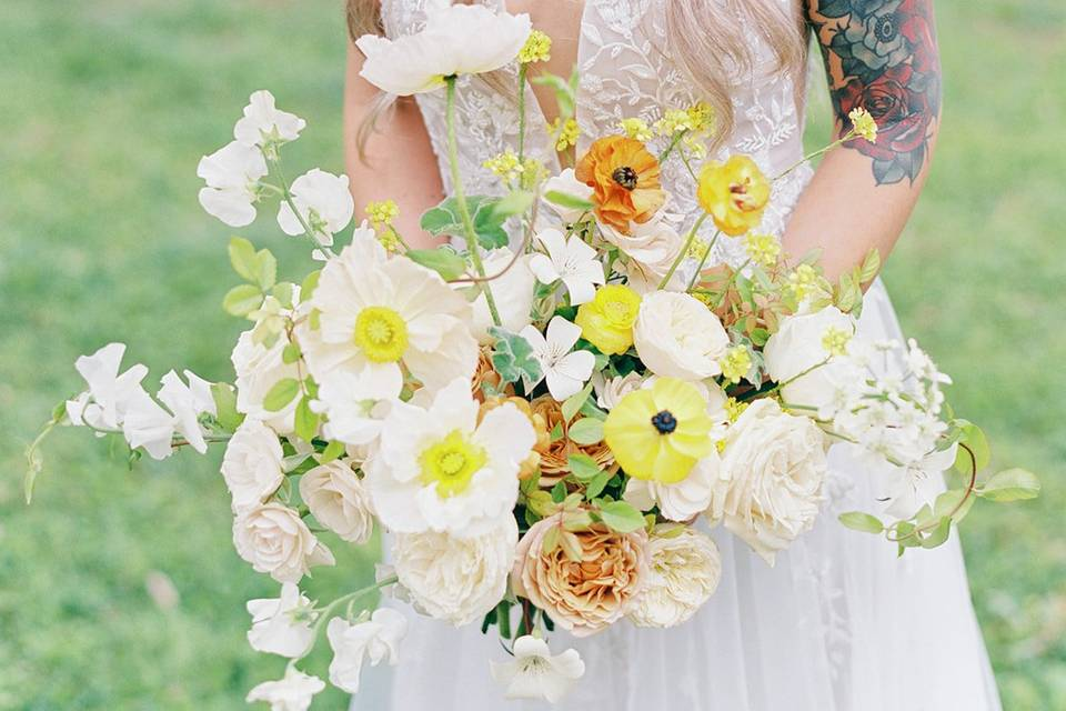 The bouquet of our dreams!