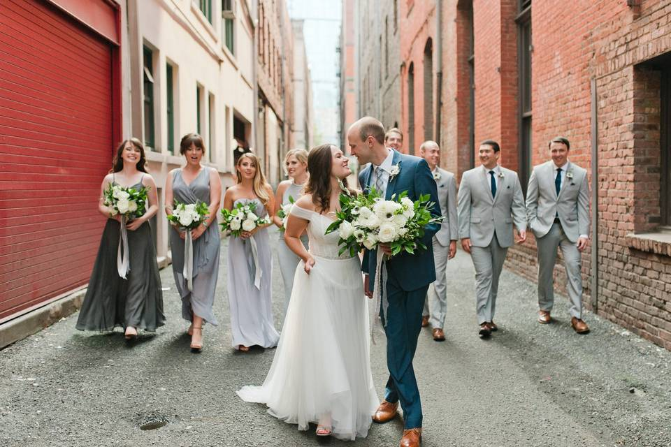 Bridal Party Moment