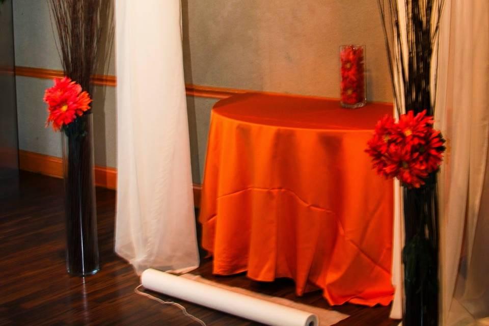Design in orange