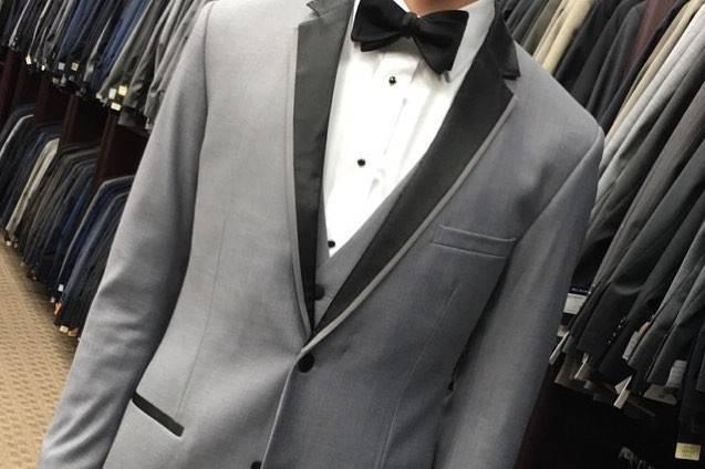 Custom made Grey Tuxedo