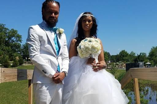 My bride and groom photo shoot