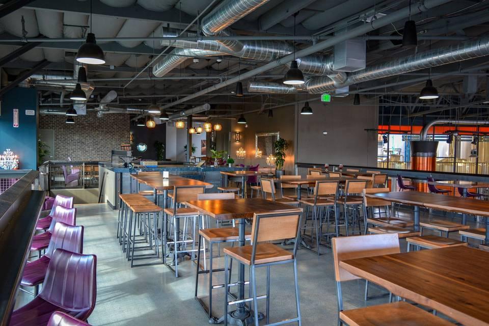 Mezzanine - Dining Area