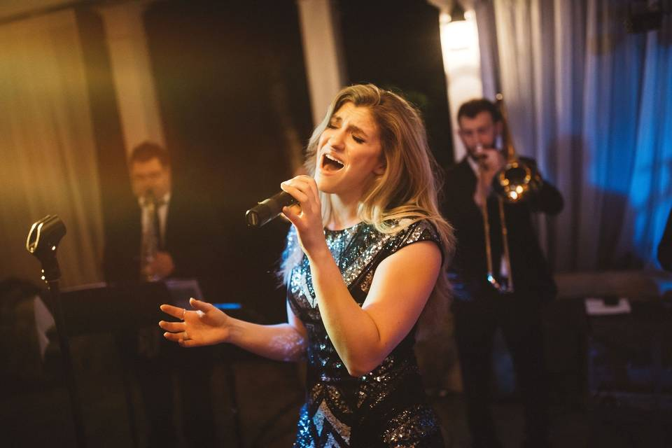 Lead vocalist Katie
