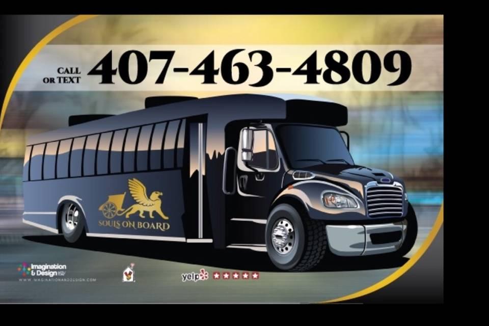 35 Passenger mini coach